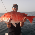 16 lb. Red Snapper, on offshore reef